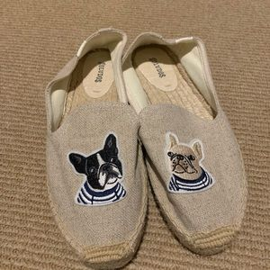 Soludos Espadrilles with Frenchies!
